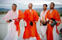 On Aug. 13, 1964, four NASA astronauts participated in desert survival training in the dusty sands of Reno, Nev. John Young, Frank Borman, Neil Armstrong and Deke Slayton wore brightly-colored parachute fabric that made the space travelers look like some sort of intergalactic Jedi monks.    Add a Wookiee to the mix and you have the premise for a Star Wars sequel starring real life space heros.