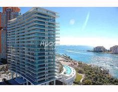 This is the Apogee condo in Miami Beach, at the southern point of Miami Beach.  Only 79 ultra, ultra luxury residences.
