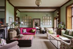 A living room at the Hotel Endsleigh Country House Hotels, Country Style Homes, Devon Hotels, English Living Rooms, Tavistock, Cosy Bedroom, Hygge Home, Best Hotel Deals, Interior Decorating