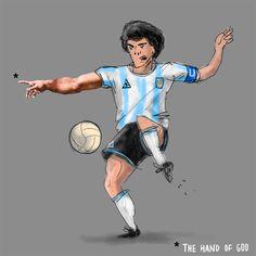 Ronaldo, Past, Football, Italy, Graphics, Artwork, Sports, People, Argentina