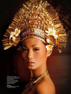 """Untitled"" | Model: Indah Kalolo Photographer: Nicoline Patricia Malina, Harper's Bazaar Indonesia, August 2011"