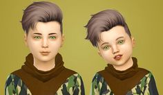 Ade craig hair edit by simiracle for the sims 4 альфа самец, детские причес Sims 4 Hair Male, Sims Hair, Kids Hairstyles Boys, Boy Hairstyles, Sims 4 Cc Skin, Sims Cc, Toddler Boy Outfits, Toddler Hair, Hair Kids