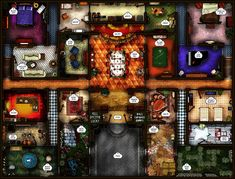 Kill Doctor Lucky game board by robbdaman on DeviantArt Epic Games, Board Games, Mansion, Image, Mystery, Boards, Deviantart, Games, Planks