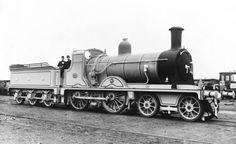 North British Railway locomotive, about 1900