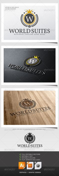 World Suite Logo #GraphicRiver