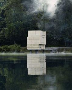by Andreas Fuhrimann Gabrielle Hächler Architekten, Rotsee, Lucerne/Switzerland