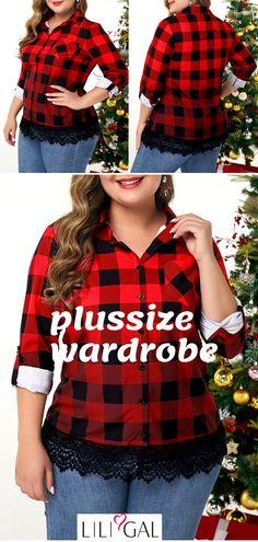 Curvy Fashion, Plus Size Fashion, Women's Fashion, Plus Size Blouses, Plus Size Dresses, Diy Clothes, Clothes For Women, Summer Clothes, Holiday Tops