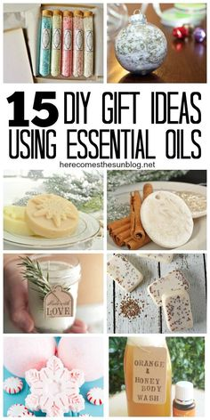 Need a homemade gift for family or friends? Try these 15 diy essential oil gift ideas. They are easy and affordable to make.