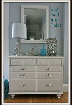 How To Add Feet To A Dresser   Before And After