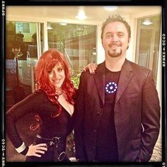 black widow and iron man tony stark cosplay marvel couplescostume couplescostumeideas halloweencostumes epic halloween costumeshalloween