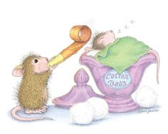 """Mudpie, Maxwell, Muzzy and Amanda featured on The Daily Squeek® for October 17th, 2016. Click on the image to see it on a bunch of really """"Mice"""" products."""