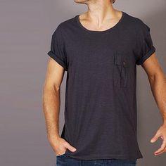 T-Shirt Philip Dunkelgrau
