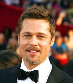 Brad Pitt long on top, short on sides haircut #Menshair #BradPitthair