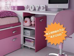#Arcon #contenitore estraibile. Team for Kids. www.moretticompact.com