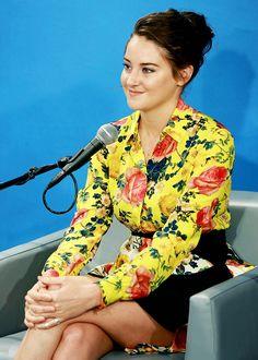 Shailene Woodley visits at SiriusXM Studio on September 13, 2016 in New York City.