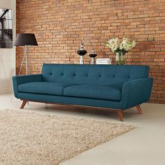 Conrad sofa sofa midcentury modern sofa by Kayylofurniture on Etsy