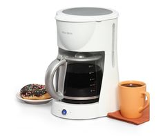 West Bend 12-Cup Coffee Maker, White