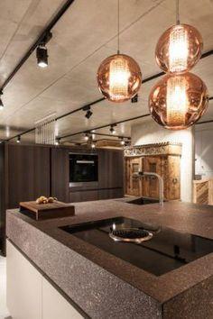 The Kitchen Club - Showroom Eggersmann Showroom, Kitchen Ideas, Ceiling Lights, Club, Lighting, Home Decor, Decoration Home, Room Decor, Lights