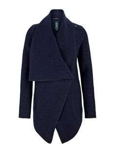 Augusta Mantel, Blazer, Navy, Style, Fashion, Long Sleeve, Color Blue, Jackets, Moda