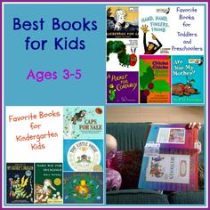 A great list of read alouds for prek-kinder kiddos. Need a new book suggestion? Check out this list!