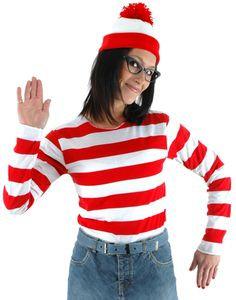 Wheres Waldo Costume, I do believe this will be my costume....if I can find the hat and shirt
