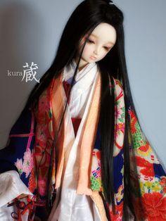 (富茂作)SD~SD13少女用 桂姿 朝顔の姫君