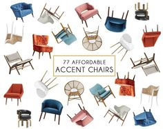 Affordable Accent Chair Roundup   Emily Henderson   Bloglovin'