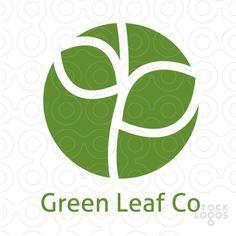 Green Leaf Logo logo
