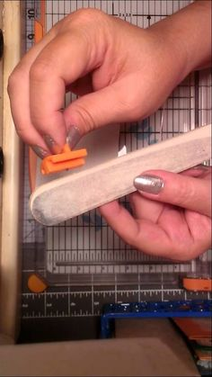 EASY DIY How To Sharpen Your Fiskars Trimmer Blade