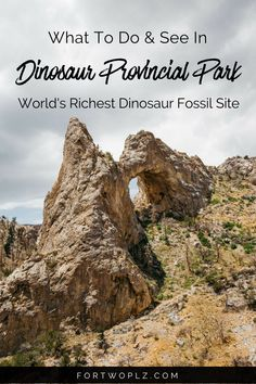 Want to uncover million-year-old fossils? Then you must visit Dinosaur Provincial Park. Here are 5 reasons to visit this UNESCO World Heritage Site. Alberta Canada, Travel Couple, Family Travel, Vancouver, Quebec, Toronto, Alberta Travel, Canadian Travel, Canadian Rockies
