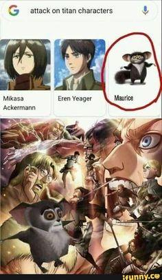Anime Meme, Funny Anime Pics, Otaku Anime, Lol Memes, Stupid Funny Memes, Funny Images, Funny Pictures, Attack On Titan Meme, Anime Crossover