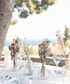 Floral Centerpieces, Wedding Centerpieces, Wedding Bouquets, Flower Arrangements, Flower Vases, Wedding Decorations, Wheat Wedding, Wedding Table, Floral Wedding