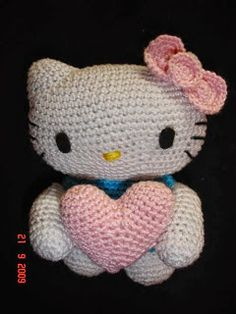 Amigurumi Hello Kitty - FREE Crochet Pattern / Tutorial