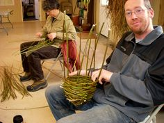 Willow basket projects