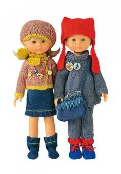 Des poupées en habits de rentrée