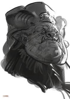 Sketch Works by A-MATE STUDIO - Digital Art, Drawing, Game Design