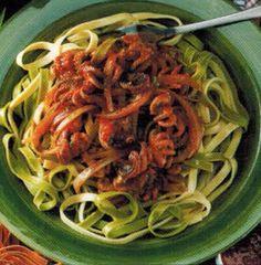 Italian Tagliatelle With Octopus recipe