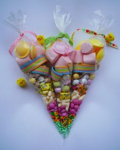 LARGE SWEET CONES***GOODIE BAGS***PARTY SWEETS***PRE FILLED SWEET CONES***CANDY*