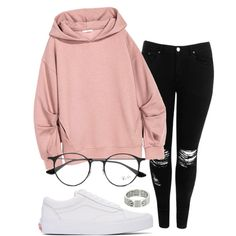 A fashion look from January 2017 by eemaj featuring Boohoo, Vans, Cartier and Ra. - Fashion - Source by Outfits for teens Cute Lazy Outfits, Casual School Outfits, Pretty Outfits, Stylish Outfits, Cool Outfits, Classy Outfits, Girls Fashion Clothes, Teen Fashion Outfits, Swag Outfits