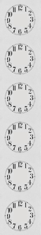 Downloadable Clock Faces  Printables    Clock Faces