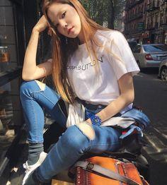 #Koreastarfashion#Kstar#Kstyle#model#jinjungsun#진정선패션#모델