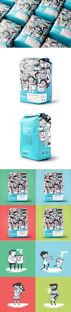 Reboot Roasting's Packaging Comes With Seriously Adorable Illustrations — The Dieline | Packaging & Branding Design & Innovation News