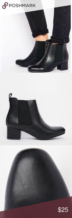 Truffle Collection Jessie Ankle Boots • Size 9 Truffle Collection Jessie Ankle Boots in size 9. In good condition, true to size, & comfortable to wear! Purchased from ASOS. :) ASOS Shoes Ankle Boots & Booties