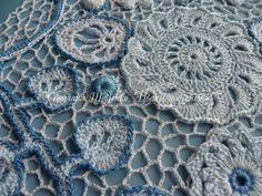 ▶ Irish Crochet Lace Tutorial 1 Part 1 of 2 Inspiring Irish Crochet Lace - YouTube