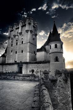 castle of Segovia - Spain