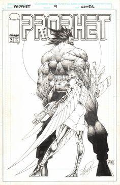 PROPHET #9 COVER 1994 - W.B.