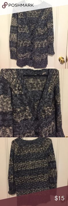 Soft Blue Marbled Sweater Blue soft marbled sweater from Urban Outfitters Urban Outfitters Sweaters Cardigans