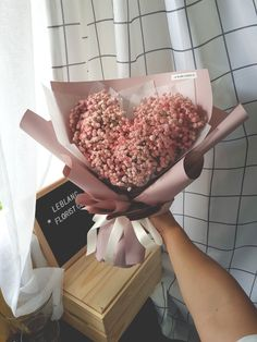 Million Love Bouquet Birthday Party Decorations Diy, Everlasting Love, Flower Market, Fresh Flowers, Breathe, Bouquet, Gift Wrapping, My Love, Pink