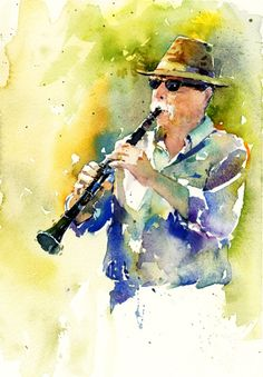 Watercolor from a photo on the Paint My Photo website.:
