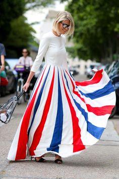 Street-Style von den Haute Couture Shows